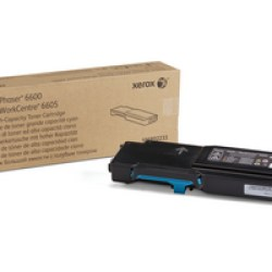 106R02233 Toner capacitate mare cyan pentru Phaser 6600, WorkCentre 6605