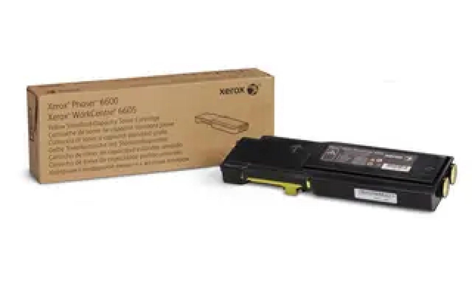 106R02251 Toner capacitate mica yellow pentru Phaser 6600, WorkCentre 6605