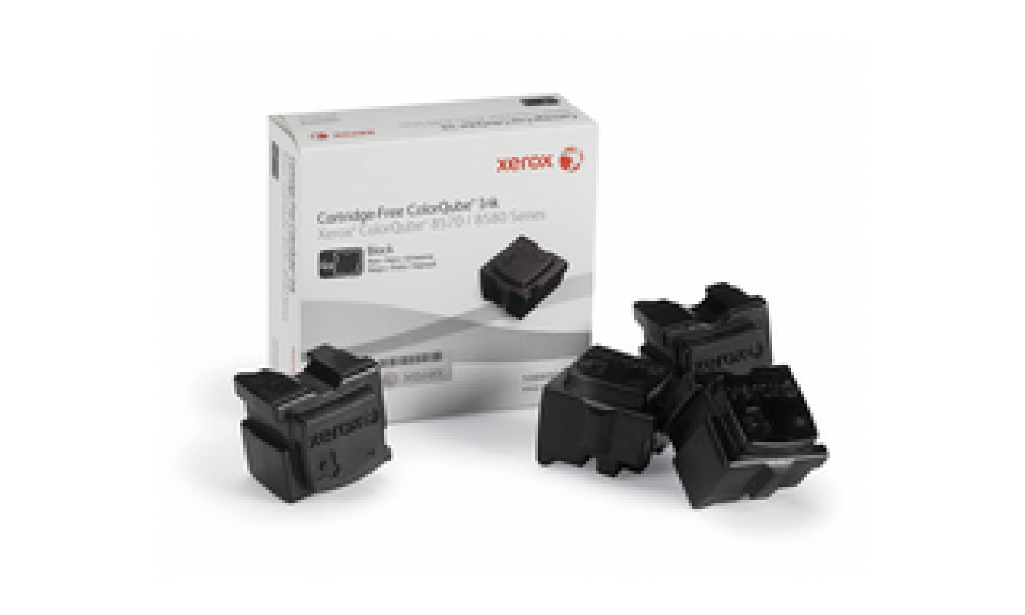 108R00940 Cerneala solida capacitate mare black pentru ColorQube 8570, 8580, 8870, 8880