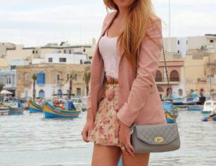 rosa fresquinho