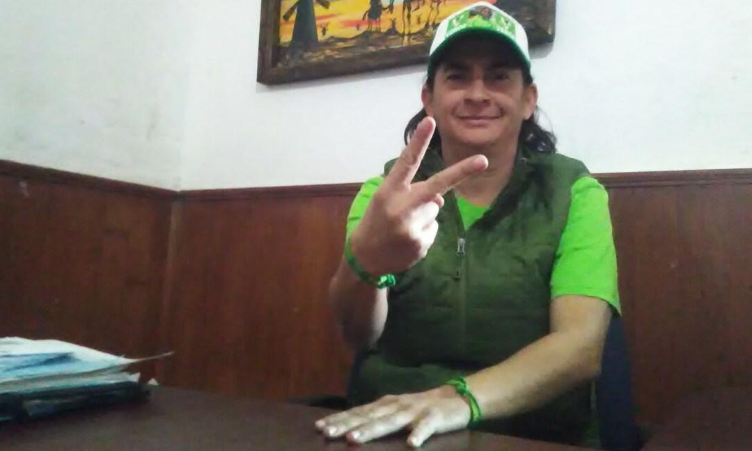 """Es Pita Espinosa la """"opción A"""" para abanderar al Verde"""