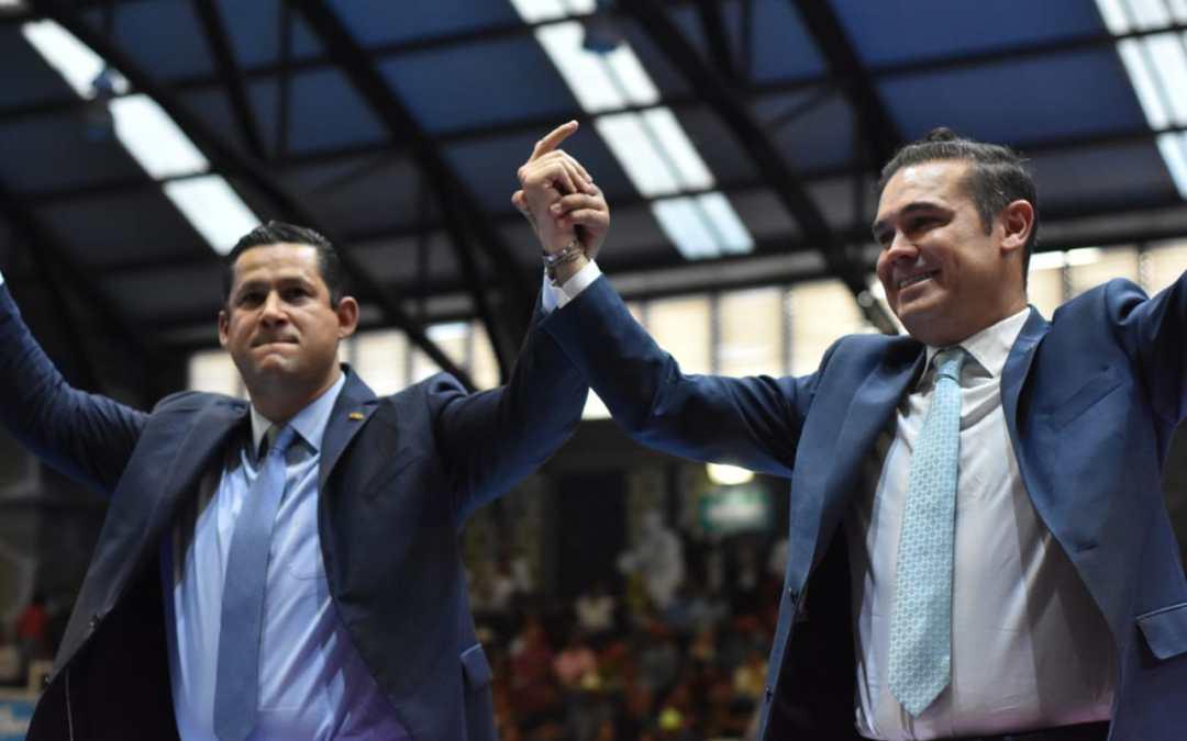 Refrendan Diego y Navarro alianza por el Guanajuato del futuro