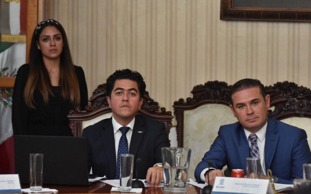 Defiende Navarro La Bufa en la aprobación de su Primer Informe