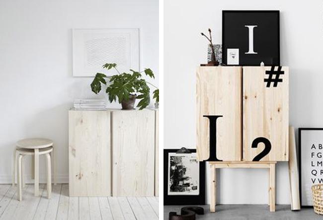 Inspiracin para transformar el mueble IVAR de Ikea  Estilo Escandinavo