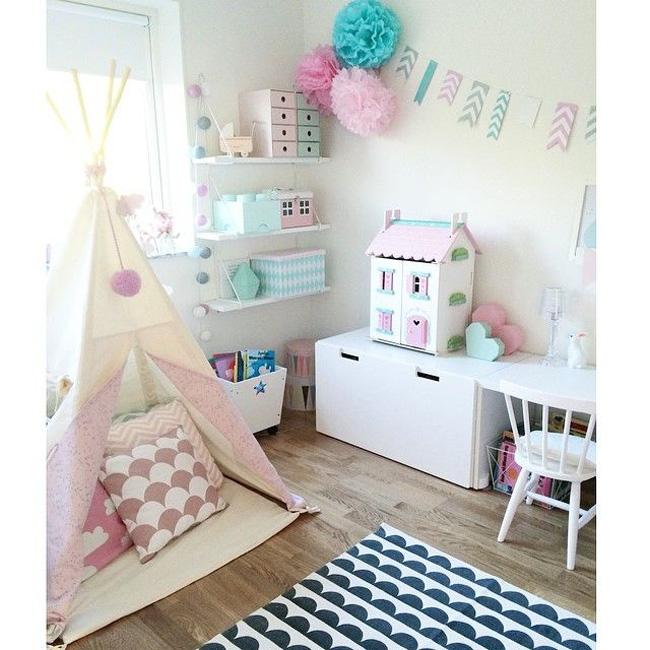 Dormitorios infantiles amueblados con Stuva  Estilo