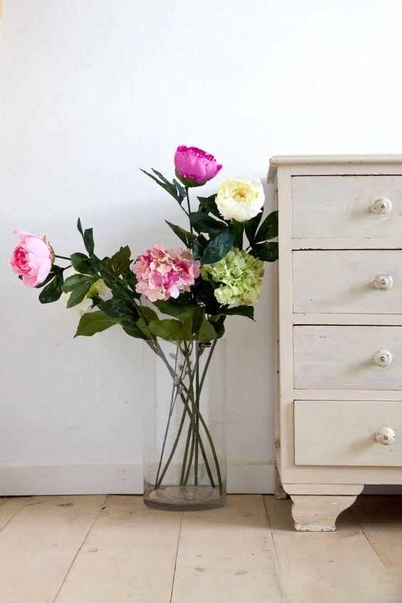 decorar con plantas artificiales 02