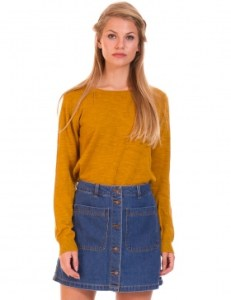 Minifalda vaquera botones de Vero Moda. En: Buylevard.es
