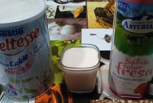 Yogur de Fresa en la Yogurtera Multi Delices de Tefal
