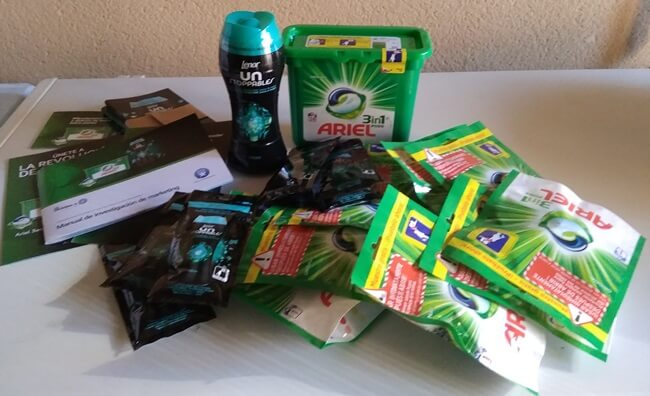 Review de Ariel 3en1 PODS y Lenor UNstoppables