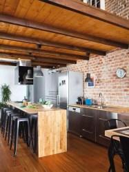 isla cocinas barra cocina chic kitchens bar rustic industrial estiloydeco estilo ikea fuente muebles ladrillo