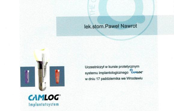 System implantologiczny CamLog