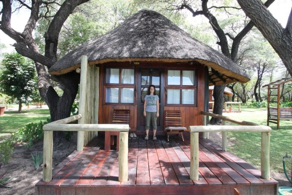Thatched Bungalow - Hakusembe River Lodge Namibia - Rundu