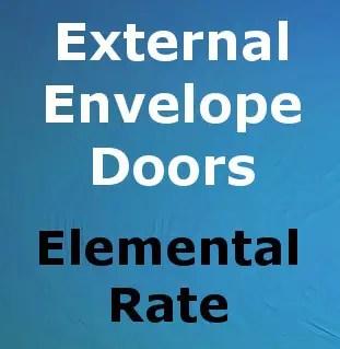 CompositeRate_External Envelope_Doors