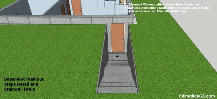 Basement Walkout Steps Detail_14 CUT