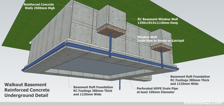 RC Walkout Basement Underground Detail_5 CUT