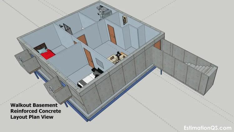 Walkout Basement Plan View (5) CUT