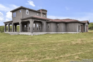 Nearing Completion - Newly Built 4 Bedroom Single Family Home with 3.5 Bath and Double Garage, Reinforced Concrete Superstructure and Slabs - Located on the Guadalupe River Estates on 700 Sunrise Trail, Spring Branch, Texas