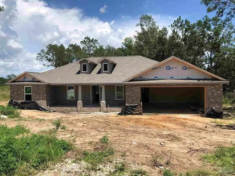 Newly Built 3 Bedroom House on 4985 Timber Ridge Drive Milton Florida 32571 Price 350000 USD