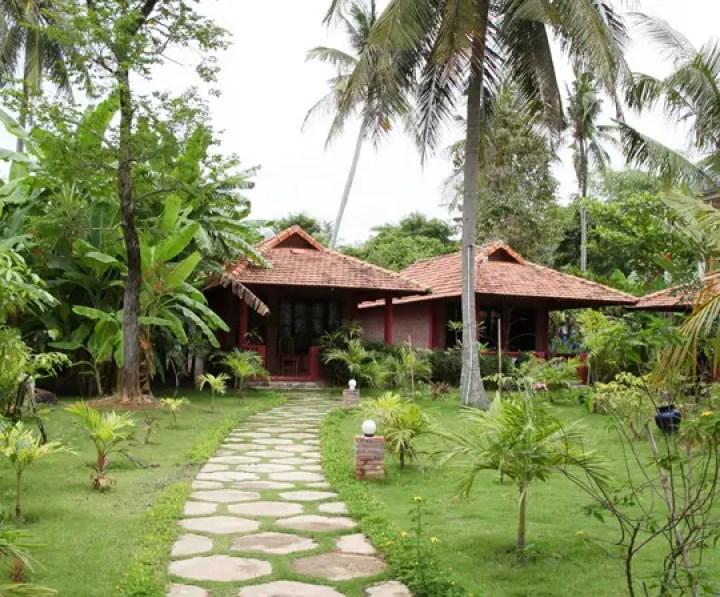 Thanh Kieu Beach Resort Bungalow Huong Vuon