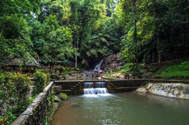 Kathu Waterfall, Kathu District, Phuket, Thailand