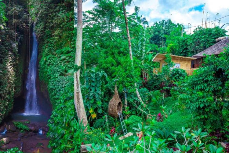 Leke Leke Waterfall, Waterfall Village, Ubud, Bali, Indonesia (2)