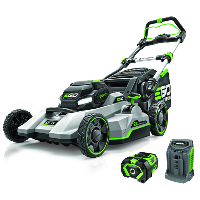 EGO Power Select CUT 56V Brushless 21 Inches Self Propelled Touch Drive Mower $753