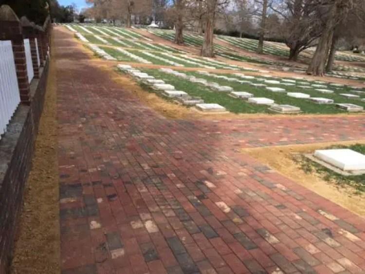 Salem God's Acre Cemetery, Old Salem, Winston-Salem, North Carolina, USA