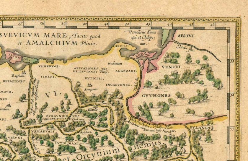 Tacitus Germania illustration by J.Bleau 1645