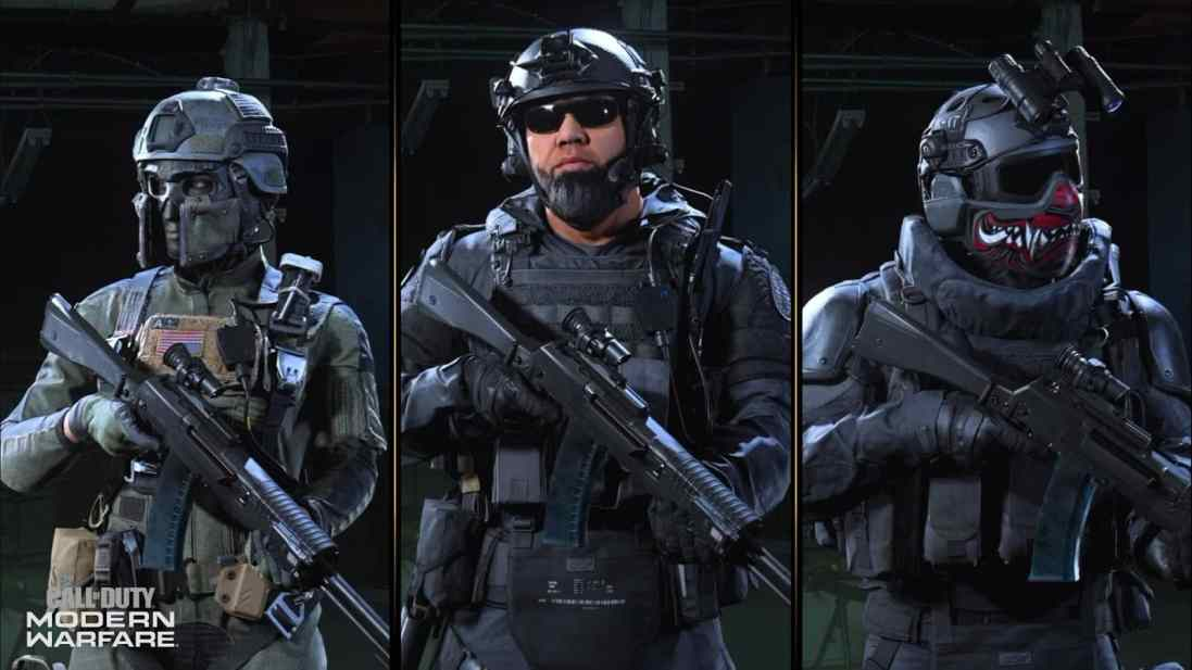"""The three new operators expected to become available in Season 5, Rozlin """"Roze"""" Helms, Marcus """"Lerch"""" Ortega and Velikan"""