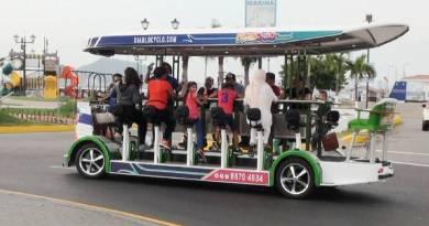 Llegó el Diablocyclo a Panamá