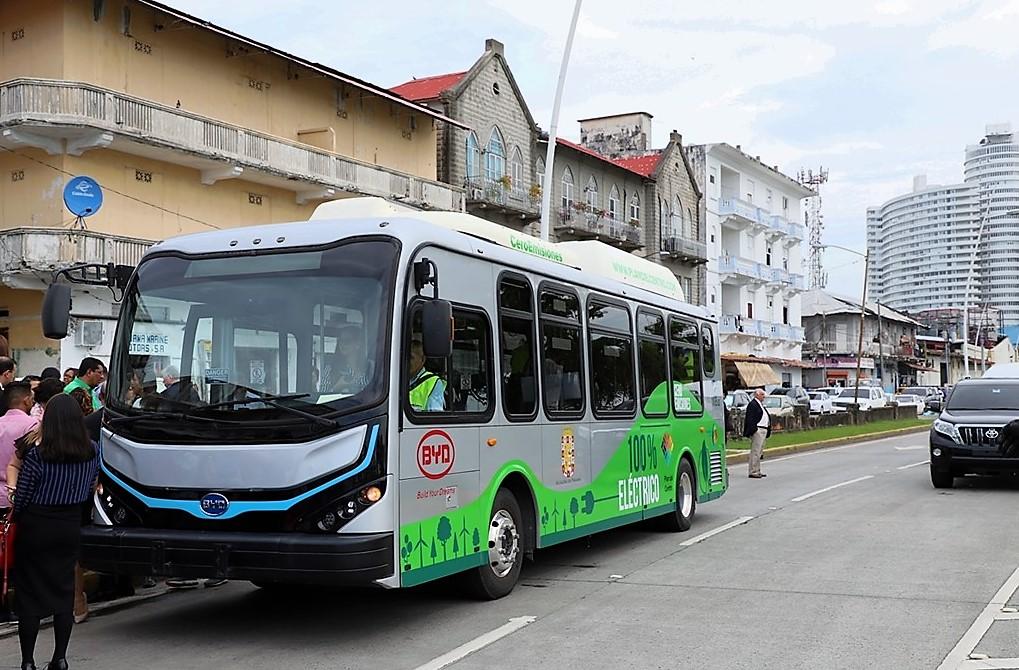 Bus Eléctrico Casco Antiguo