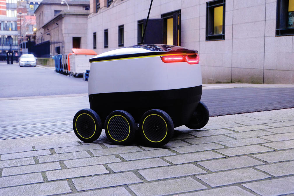 kitchen robot large islands estonian delivery robots are transforming the world — estonia