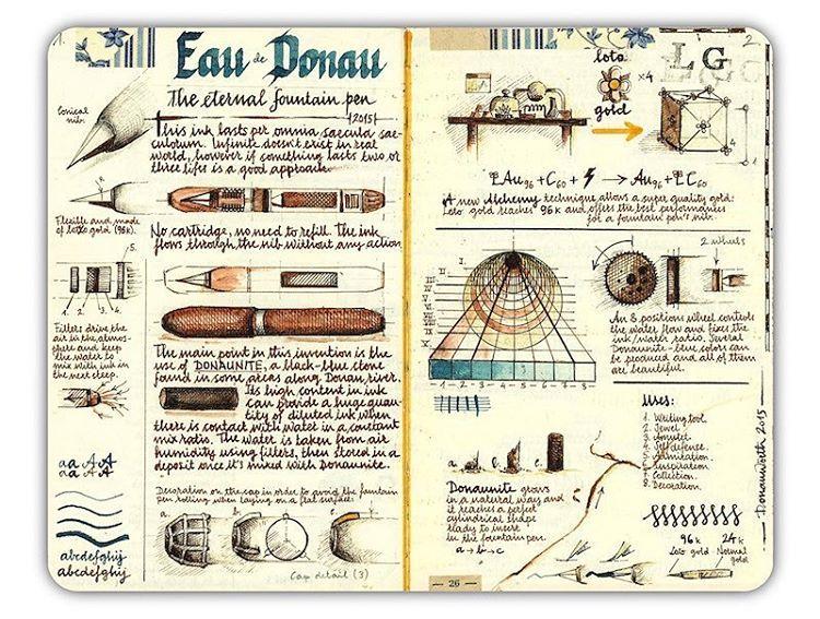 Los maravillosos cuadernos de viaje de José Naranja