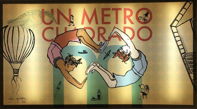 Un metro cuadrado de Gloria Garrastazul
