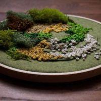 Los jardines bordados de Emma Mattson