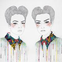 Los bordados en papel de Izziyana Suhaimi