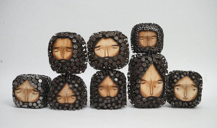 Jaime Molina, del street art a la escultura