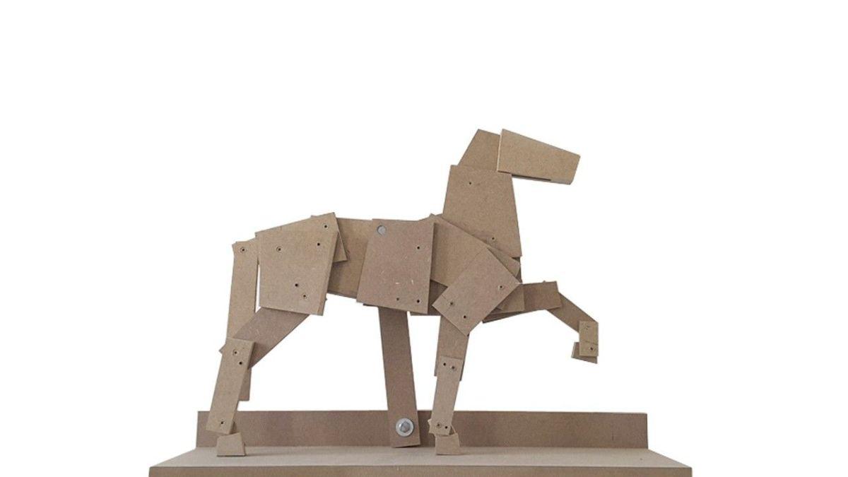 Las esculturas articuladas de Luis Cortés