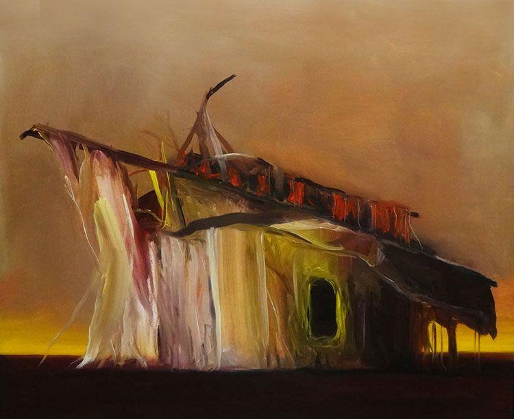 Desolación y muerte en la obra de Joseba Eskubi