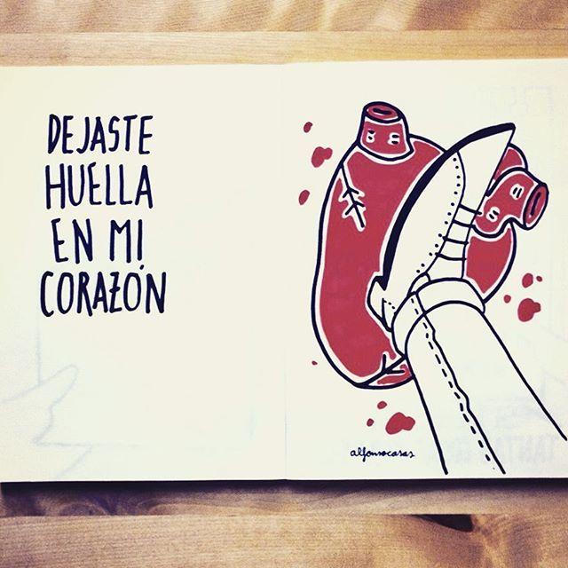 El (des)amor ilustrado por Alfonso Casas
