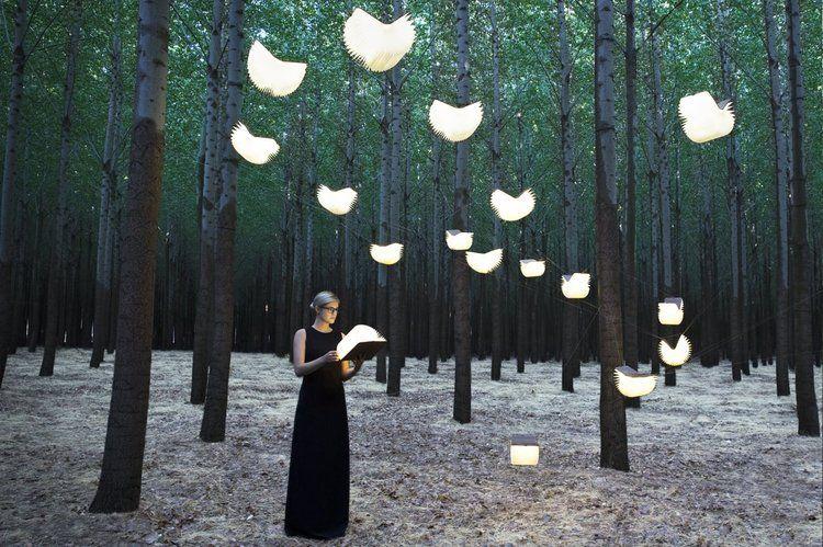 Lumio, la lámpara-libro para llevarte a cualquier sitio