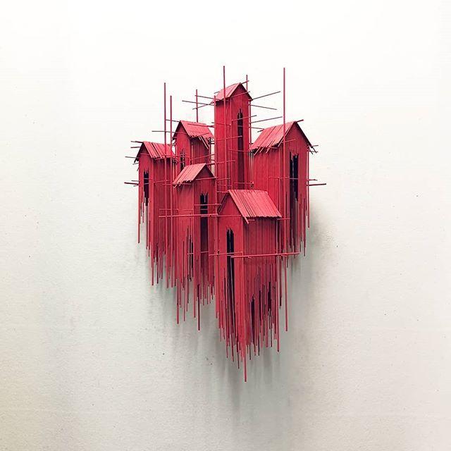 Las esculturas dibujadas de David Moreno