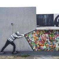 Fusión de estilos en los grafitis de Martin Whatson