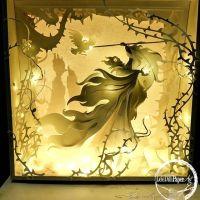 LeleDilliPaperArt: las mágicas cajas de luz de Emanuele Tarchini