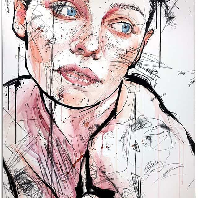 Retratos en acuarela de Dominic Beyeler