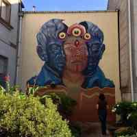 El arte ancestral colombiano en el street art de Gleo