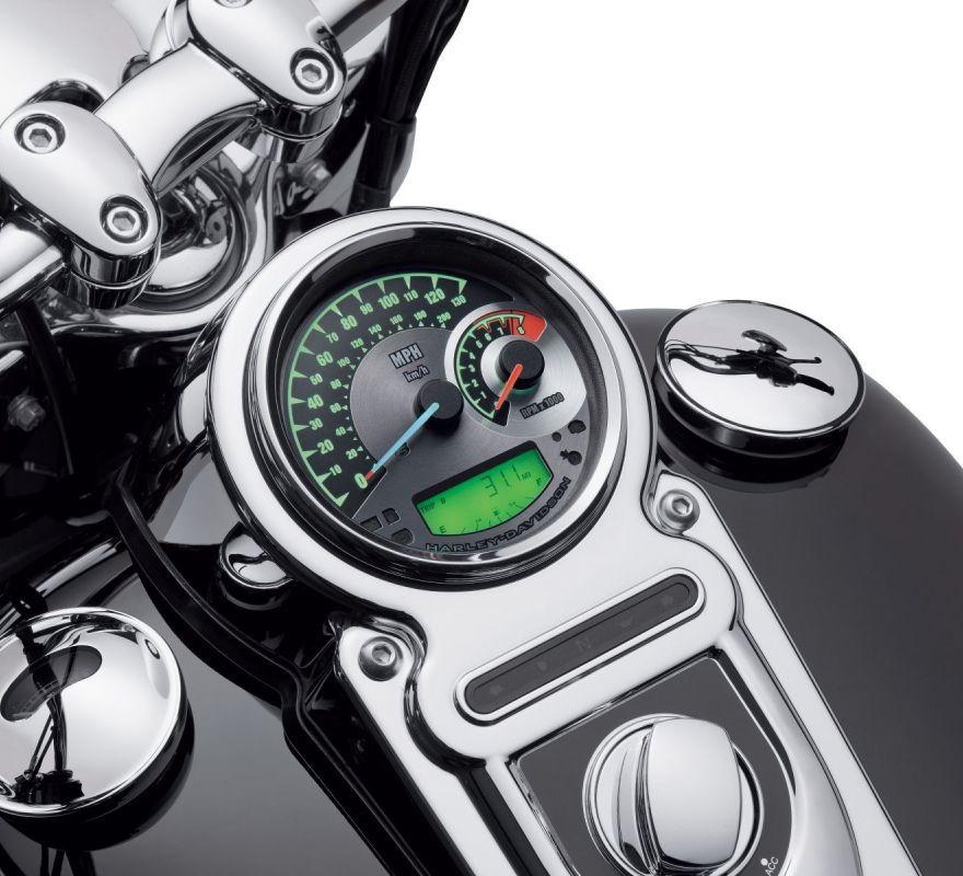 2013 Harley Davidson Street Glide Handlebar Wiring Diagram 70900072a Harley Davidson 174 Combination Analog