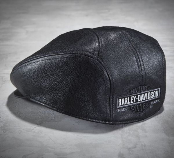Harley-davidson Men' Nostalgic Leather Ivy Cap 99561-04v