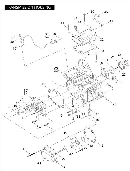 2006 Softail Models Parts Catalog|TRANSMISSION HOUSING