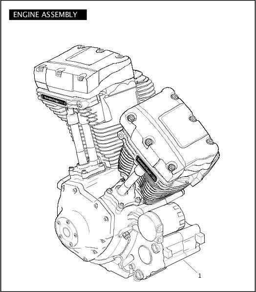2010 FLSTSE Parts Catalog|ENGINE ASSEMBLY|Chester Harley